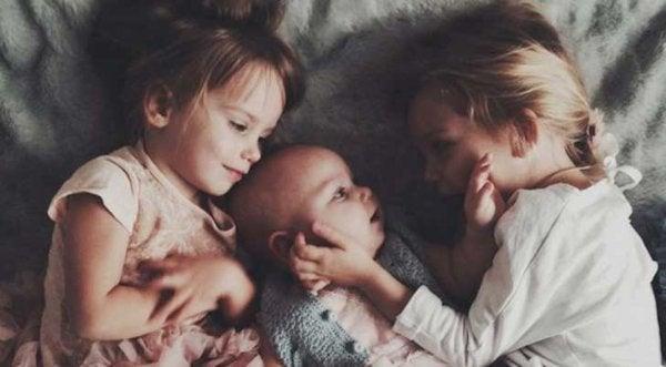 Oudere broers en zussen