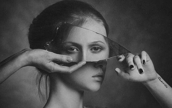 De reflectie van twee ogen
