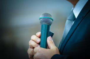 spreken in het openbaar