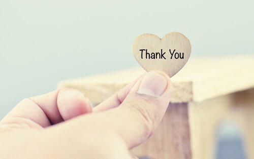 Dankbaarheid is een goed voorbeeld van positieve emoties