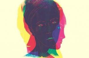 Verschillende gezichten in een, als voorbeeld van de persoonlijkheidstypes volgens Erich Fromm