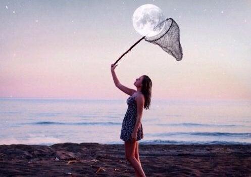 Vang de maan
