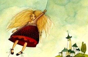 Je comfortzone verlaten door jezelf door de wind mee te laten slepen