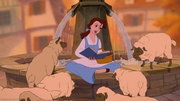 Belle en het Beest - de tekenfilm