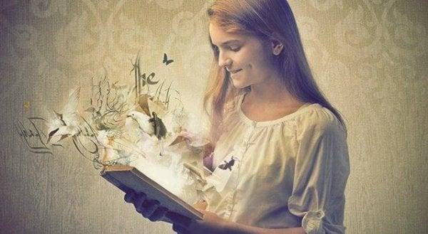 Boeken zijn spiegels, je ziet in hen wat je in je hebt