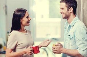 Een positief gesprek