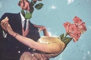 Twee mensen die samen dansen, maar vroeg of laat ontstaan er problemen in je relatie