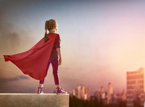 Zij zal altijd mijn superheld zijn