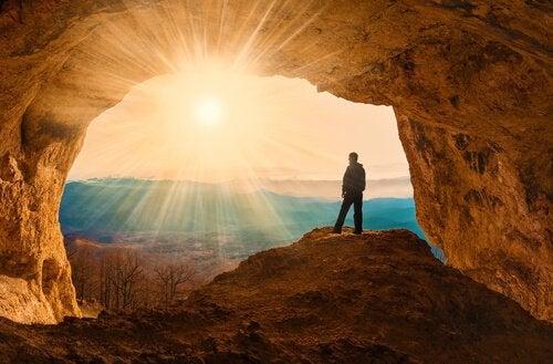 Man in grot: zijn menselijke wezens rationele dieren?