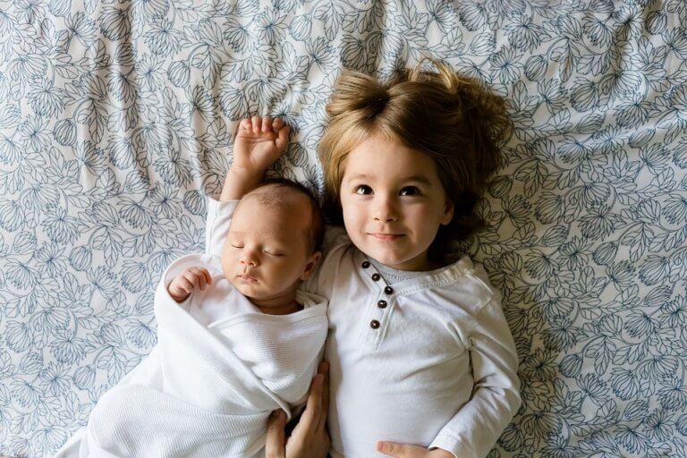 Rivaliteit begint bij de geboorte van een nieuw broertje of zusje