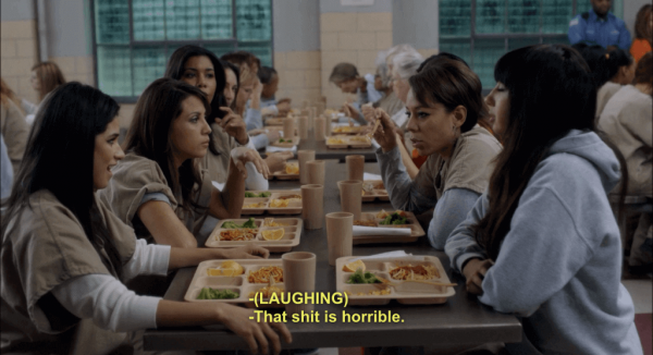 Scene uit Orange Is The New Black