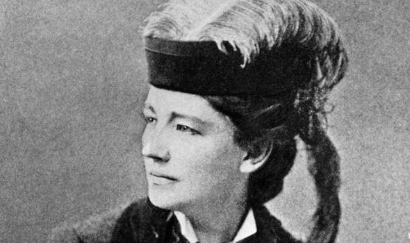 Victoria Woodhull die verbonden is aan het Matilda-effect