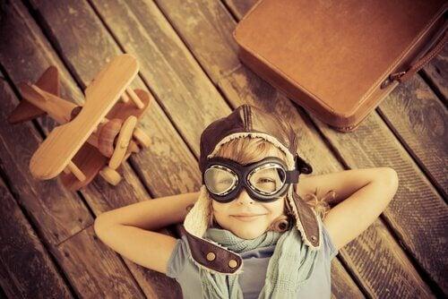 Creatief jongetjes, maar creativiteit is afhankelijk van je omgeving