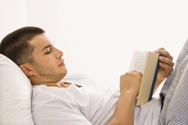 Lezen vóór het slapengaan