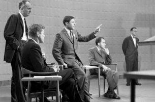 Politici Kennedy en Nixon