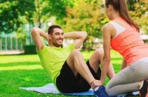 Man die traint, maar hoe verbetert lichaamsbeweging je mentale gemoedstoestand?