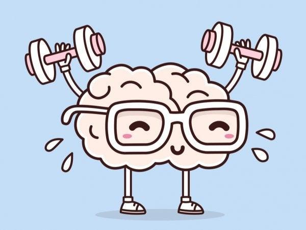 Hersenen die gewichtheffen, want wat doet lichaamsbeweging voor je mentale gemoedstoestand?
