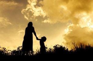 Moeder met kind: in één ogenblik kan alles veranderen