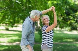 Dansende ouderen