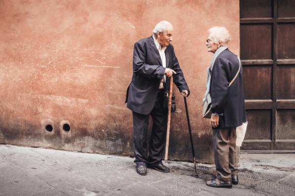 Oudere mensen doen aan actief ouder worden