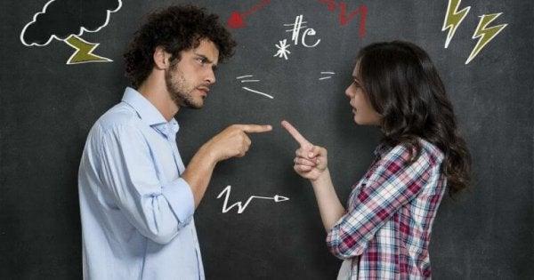 Stel heeft ruzie: manipulatie via communicatie