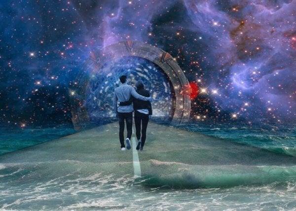 Twee mensen die elkaar oprecht liefhebben