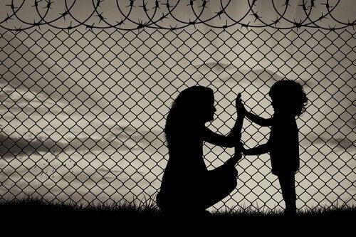 Het tragedie van vluchtelingen – in niemandsland