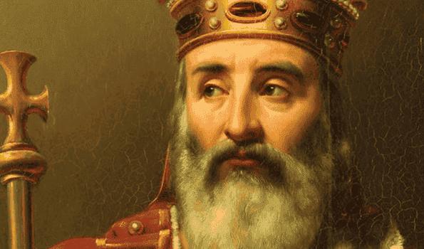 De legende van Karel de Grote, een liefdesverhaal