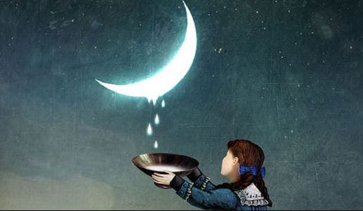 Meisje en de maan