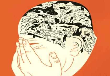Mensen die verslaafd zijn aan conflicten zijn in oorlog met zichzelf