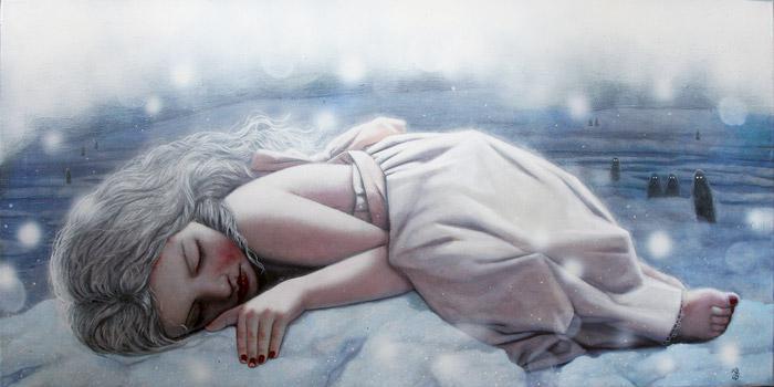 Een meisje met verdriet