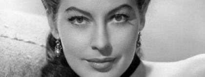 Ava Gardner close-up