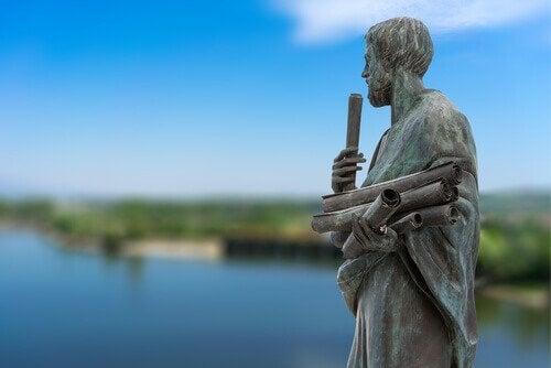 Beeld van Aristoteles