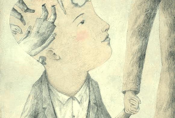 Vastzitten op een emotionele leeftijd zonder genegenheid