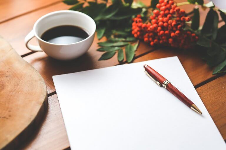 Therapeutische schrijfoefeningen