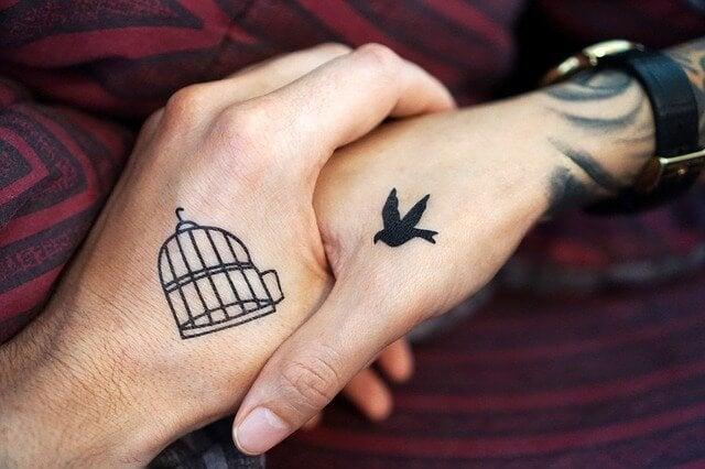 Ware vriendschap is voor altijd - net als tattoo's