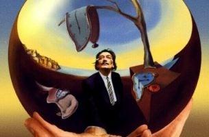 Dalí met smeltende klokken