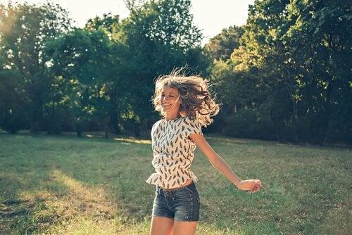 De emoties die geassocieerd worden met geluk