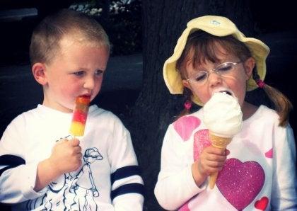 Jaloers op ijsje