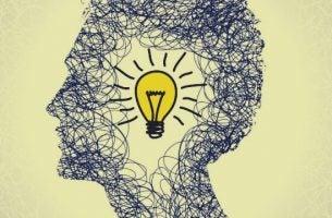 Creatieve en innovatieve kanten van een persoon
