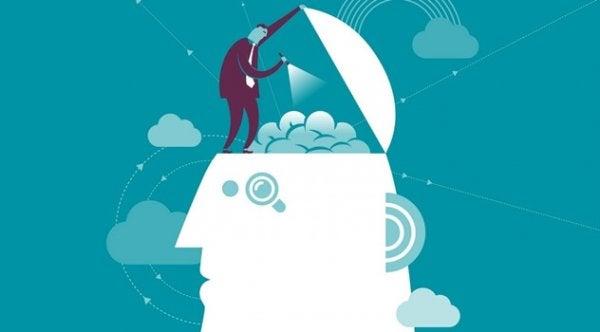 Man onderzoekt de hersenen: NLP (neurolinguïstisch programmeren)
