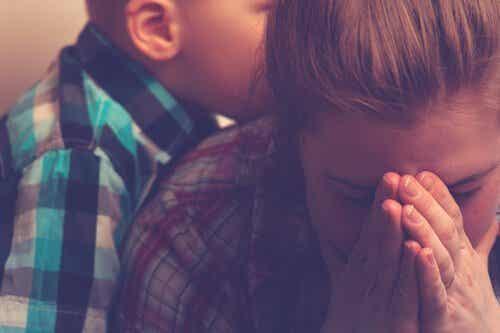 Uitgeputte moeders en het burn-outsyndroom