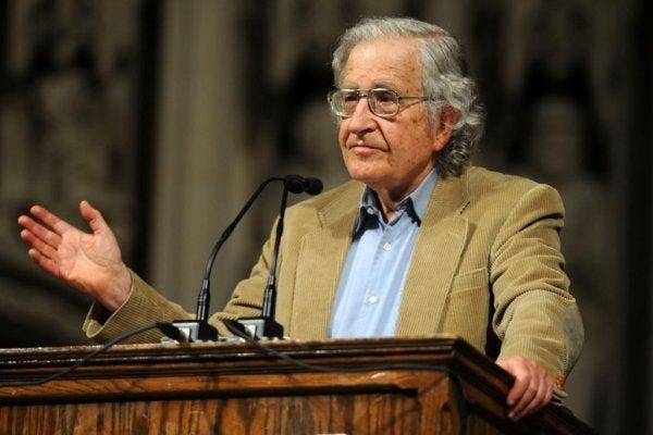 Mijn familie weet niet wie Noam Chomsky is