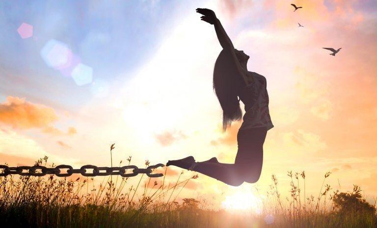 Bevrijde vrouw