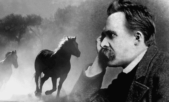Federico Nietzsche en paard