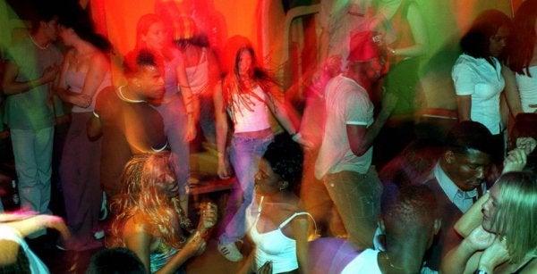 Gevaar voor scopolamine in een club
