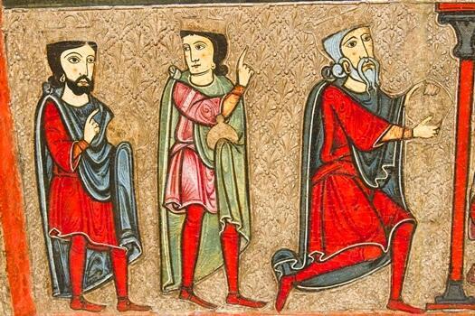 Middeleeuws schilderij