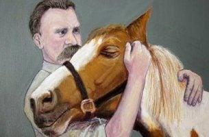 Nietzsche en paard