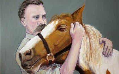 Waarom omhelsde Federico Nietzsche een paard?