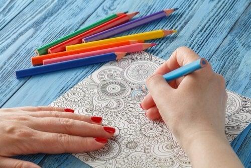 Ontdek de positieve effecten van het kleuren van mandala's